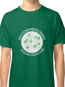 Society of Data Analytics Engineers at Volgenau/GMU Classic T-Shirt