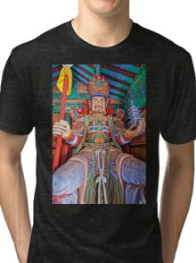 Gate of the Four Heavenly Kings Tri-blend T-Shirt