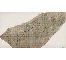 Civil War Maps 2024 Map of Orange County Va Photographic Print