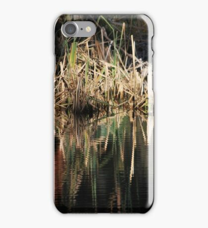 Reedy Repose in Color iPhone Case/Skin