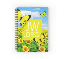 JW.ORG (Sunflowers and Butterflies) Spiral Notebook