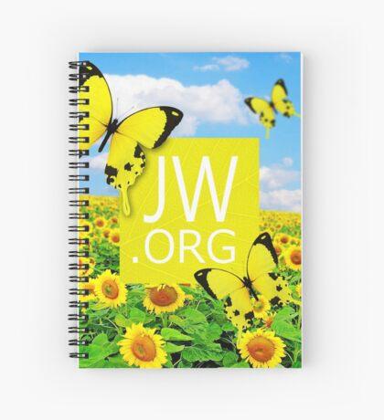 JW.ORG (Sunflowers and Butterflies) Spiral Notebook