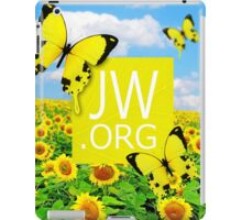 JW.ORG (Sunflowers and Butterflies) iPad Case/Skin