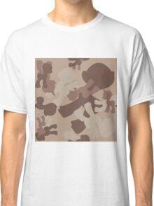 Brony Military Desert Camo Classic T-Shirt