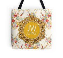 JW.ORG (Vintage Flowers) Tote Bag