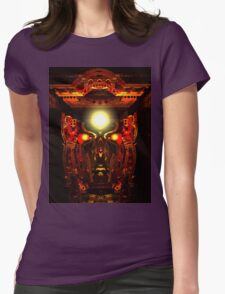 Mind Chamber Womens Fitted T-Shirt
