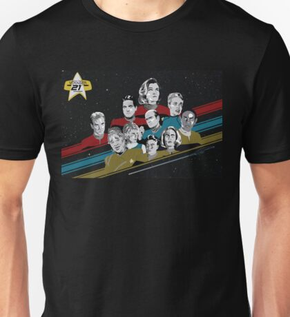 Star Trek Voyager 21st Anniversary Unisex T-Shirt