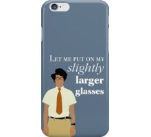 It Crowd Moss Glasses iPhone Case/Skin