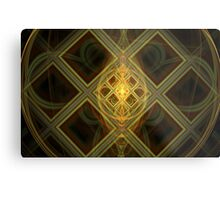 Conflict Between Shapes and Sizes Metal Print