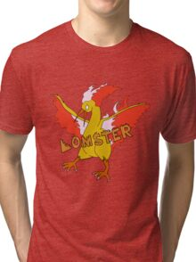 LOMSTER the Moltres Tri-blend T-Shirt