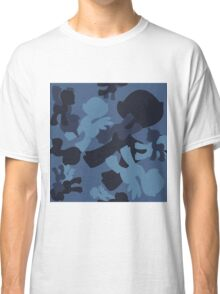 Brony Military Navy Camo Classic T-Shirt