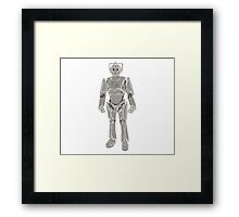 Cyberman/ Doctor Who Framed Print
