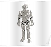 Cyberman/ Doctor Who Poster