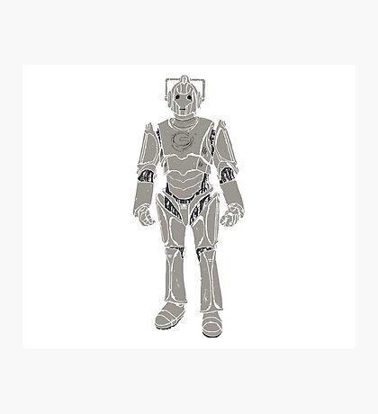 Cyberman/ Doctor Who Photographic Print