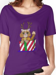 No Christmas for Kitty Women's Relaxed Fit T-Shirt