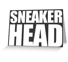 Sneakerhead- box Greeting Card