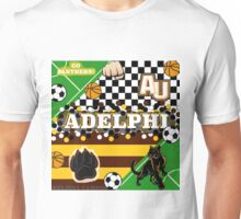 ADELPHI UNIVERSITY COLLAGE Unisex T-Shirt