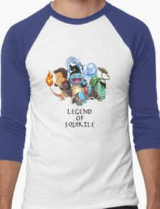 Legend of Squirtle Men's Baseball ¾ T-Shirt