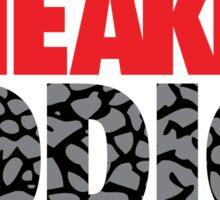 Sneaker Addict Cement Sticker