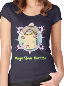 Mega Slow Burrito V2 Women's Fitted Scoop T-Shirt