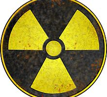Radioactive Fallout Symbol - Geek Gamer Nerd by nfisher