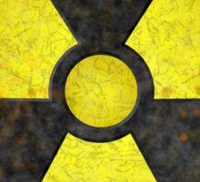 Radioactive Fallout Symbol - Geek Gamer Nerd Sticker