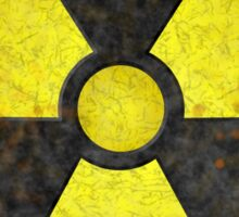 Radioactive Fallout Symbol - Geek Gamer Nerd Sticker