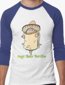 Mega Slow Burrito V1 Men's Baseball ¾ T-Shirt