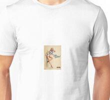 Pin up sailor girl Unisex T-Shirt