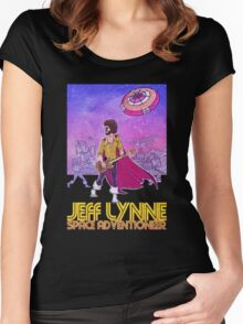 Jeff Lynne: Space Adventioneer Women's Fitted Scoop T-Shirt