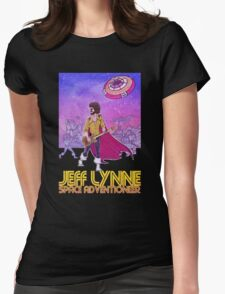 Jeff Lynne: Space Adventioneer Womens Fitted T-Shirt