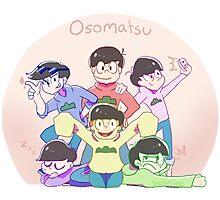 Osomatsu San Photographic Print