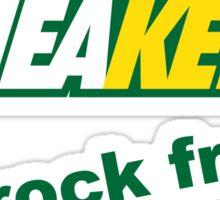 Sneakers Rock Fresh Sticker