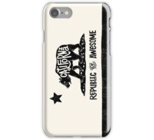 California Republic of Awesome Phone Case iPhone Case/Skin