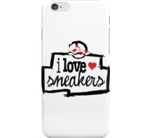 I Love Sneakers Carmines iPhone Case/Skin