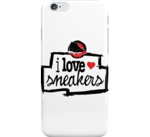 I Love Sneakers J11 Breds iPhone Case/Skin