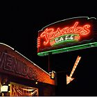 Posados Cafe Neon Sign by Catherine Sherman