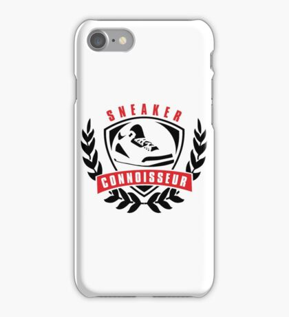 Sneaker Connoisseur iPhone Case/Skin