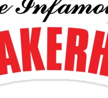 The Infamous Sneakerhead Sticker