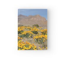 El Paso Poppies Hardcover Journal