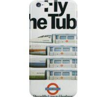Vintage poster - London Underground iPhone Case/Skin