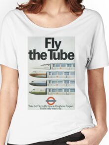 Vintage poster - London Underground Women's Relaxed Fit T-Shirt