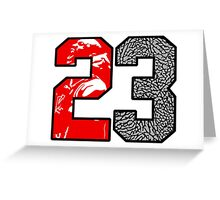 23 Cement Greeting Card