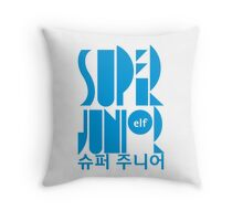 Super Junior ELF K Pop Fan Throw Pillow