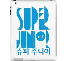 Super Junior ELF K Pop Fan iPad Case/Skin