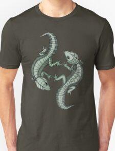 Gecko Lizard pair Unisex T-Shirt