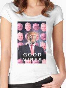 COOL TRUMP'D EDIT Women's Fitted Scoop T-Shirt