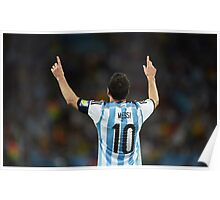 (HD) Messi - Argentina Poster