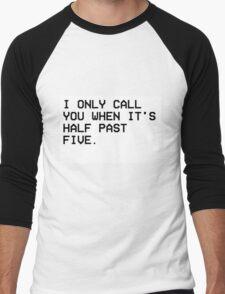 THE WEEKND CALL Men's Baseball ¾ T-Shirt