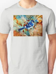 Blue Jay In a Tree T-Shirt
